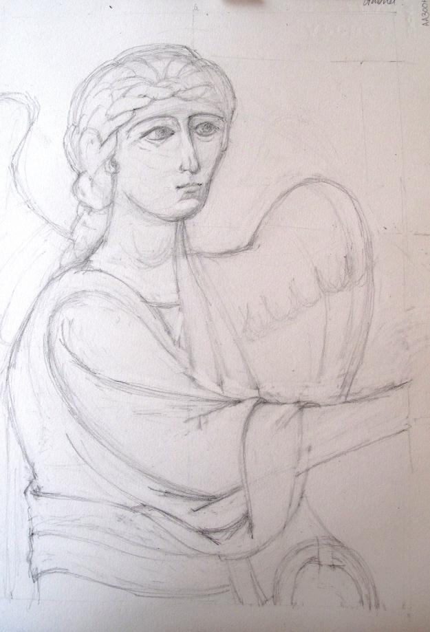 Preliminary sketch of Gabriel