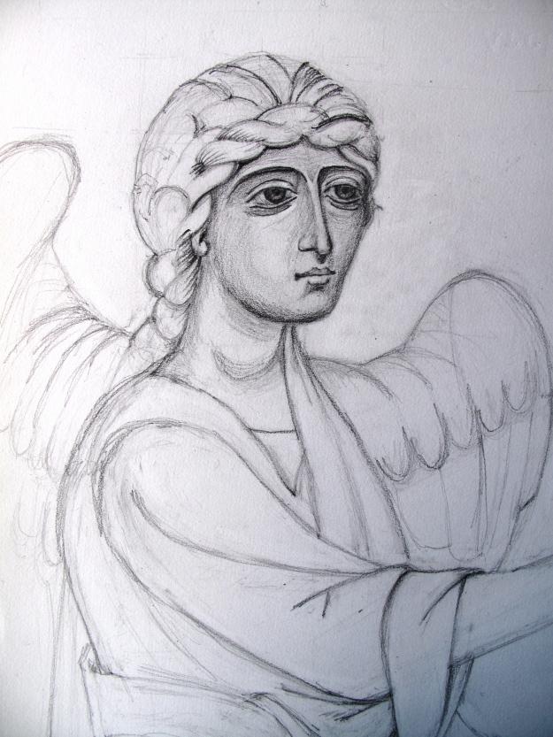 Sketch of Gabriel near completion