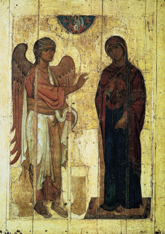 Annunciation of Ustyug, Novgorod, 12th Century