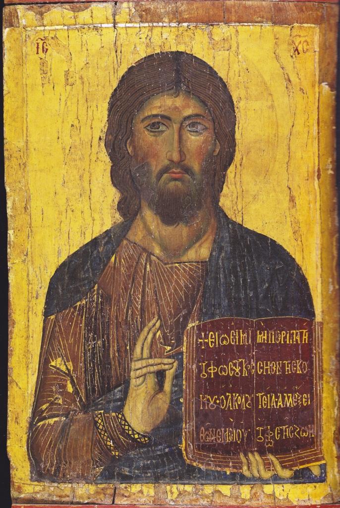 icon of Sinai Christ Pantocrator