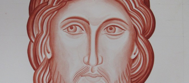 Third attempt at the monochrome of Christ for the Mandilion