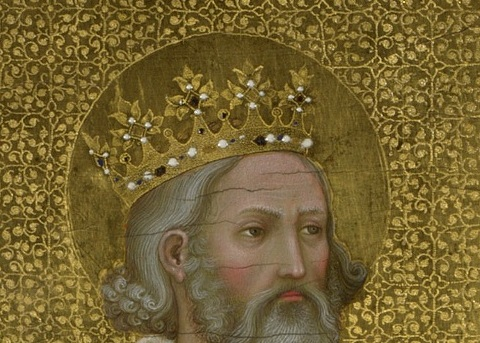 Crown detail Edward Confessor