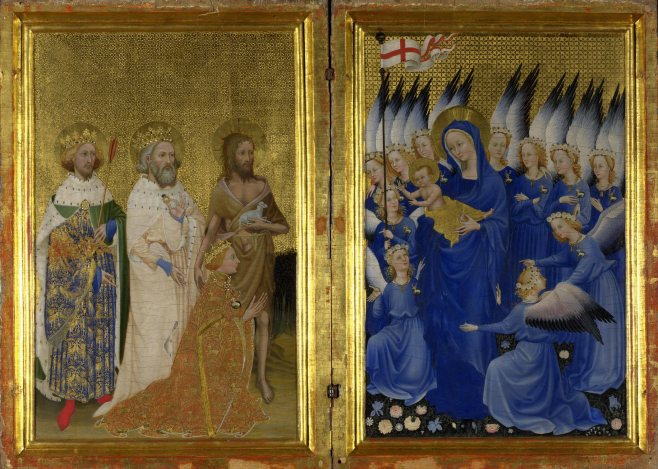 Image of the WIlton Diptych