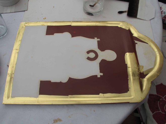 raised border gilding