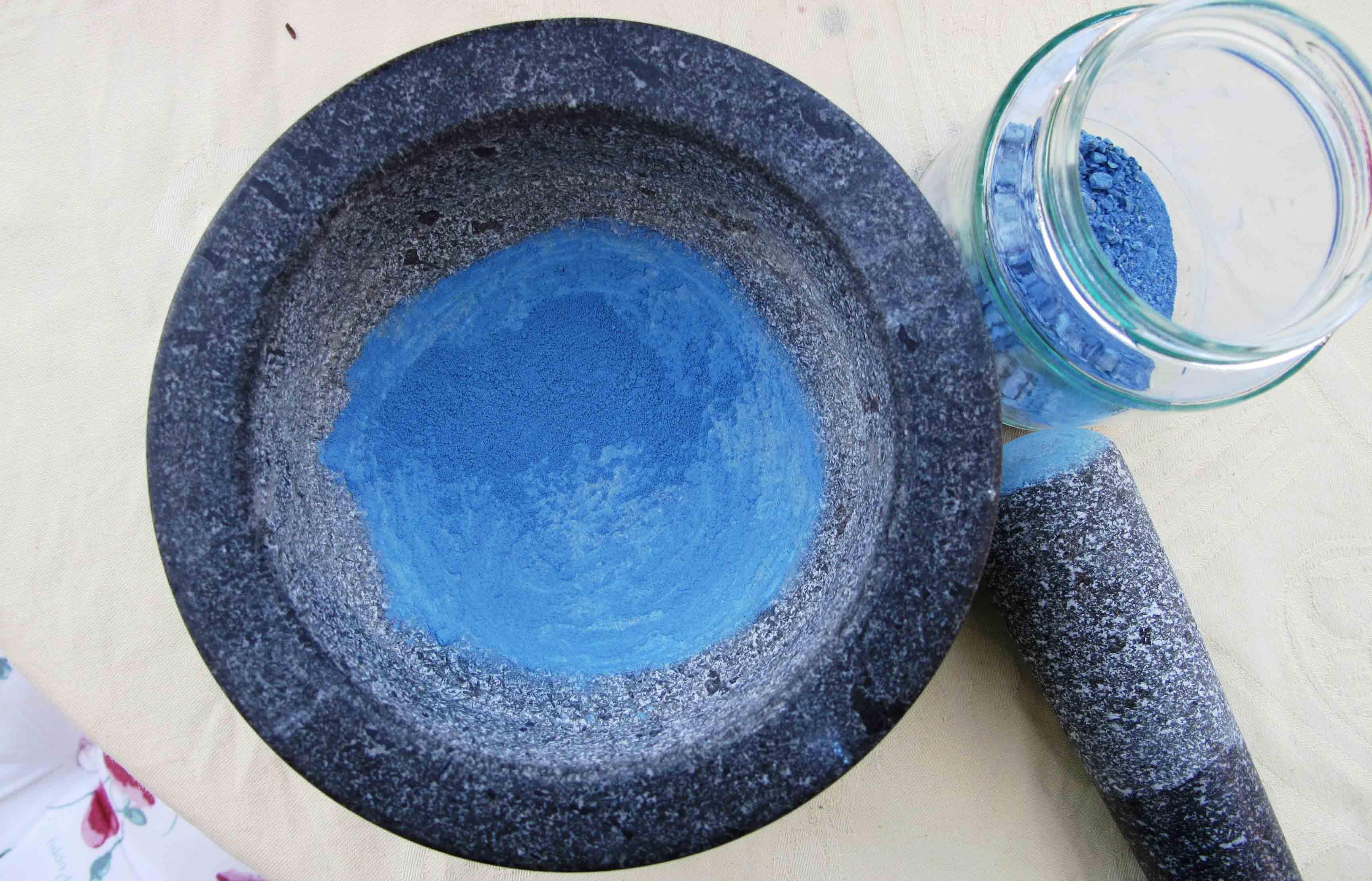 azurite pigment