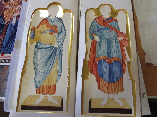 angels egg tempera