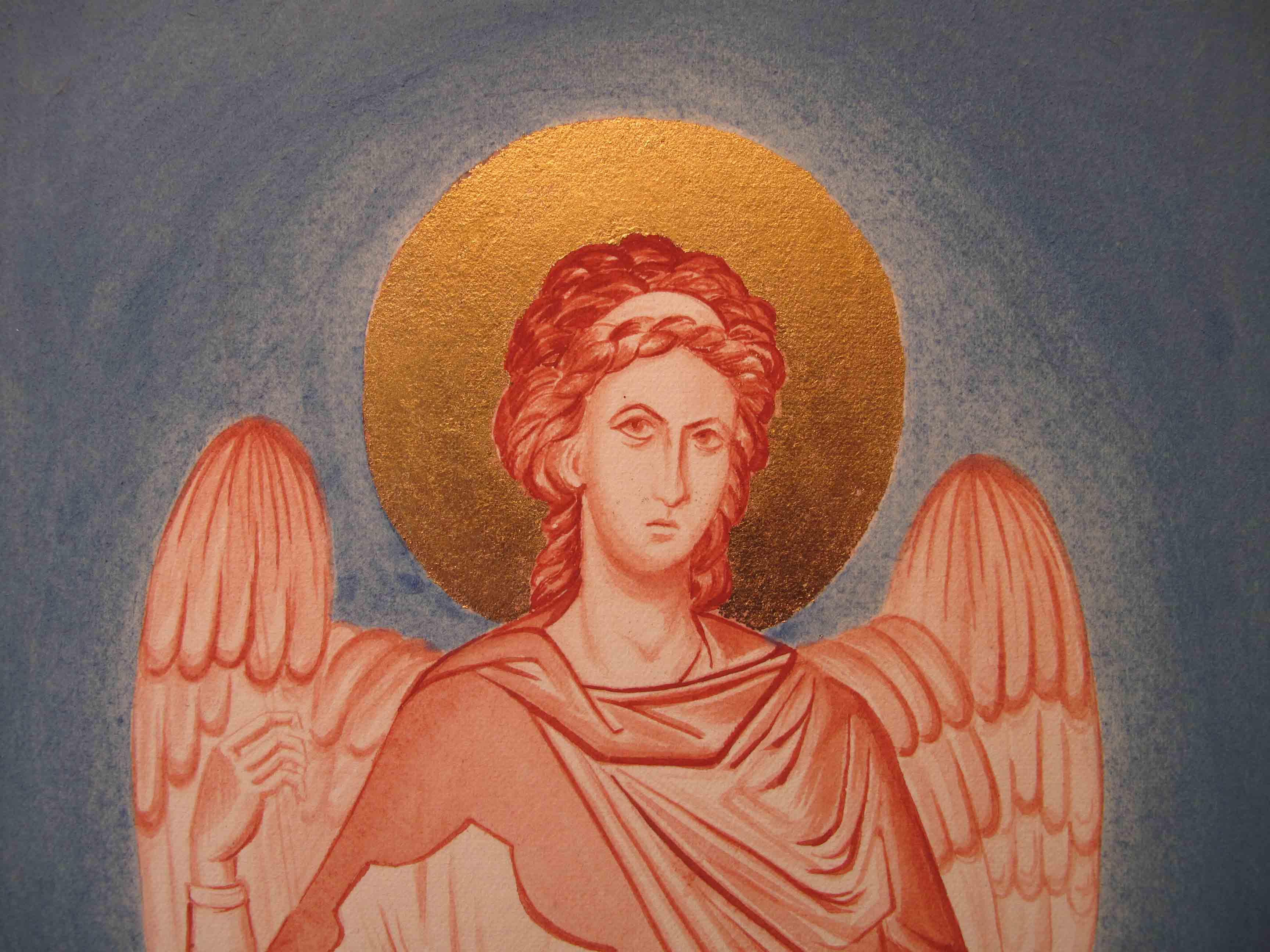 Archangel in Monochrome
