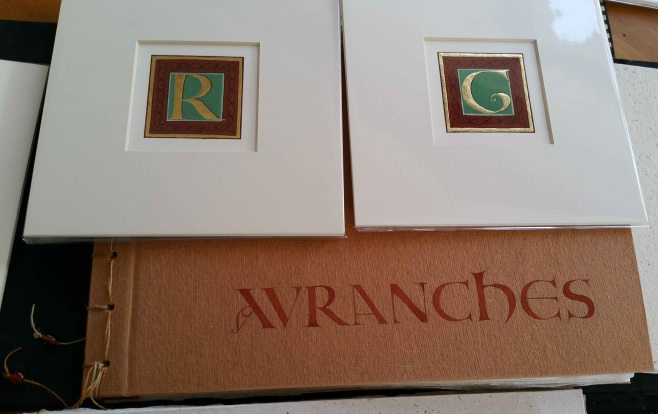 Avranches lettering