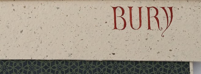 lettering of the Bury Bible