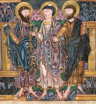 f4r St Peter and 2 apostles crop brit Library