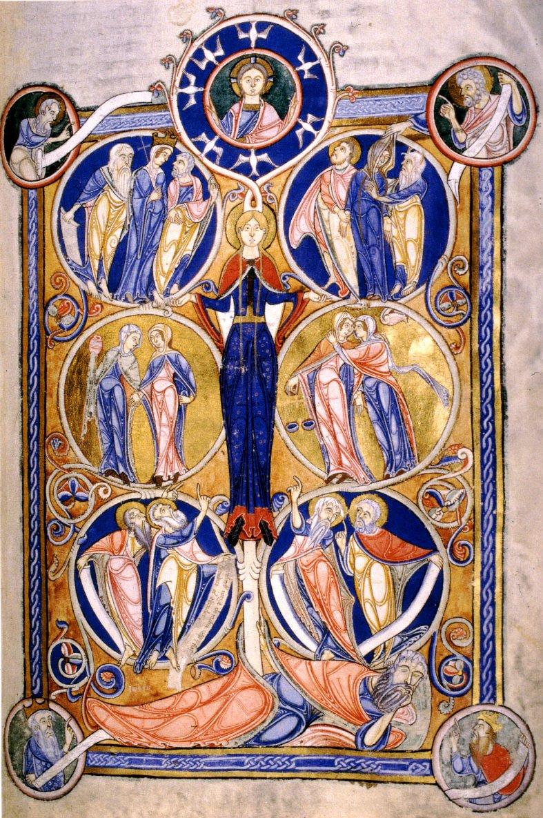 13 LAMBETH BIBLE TREE OF JESSE