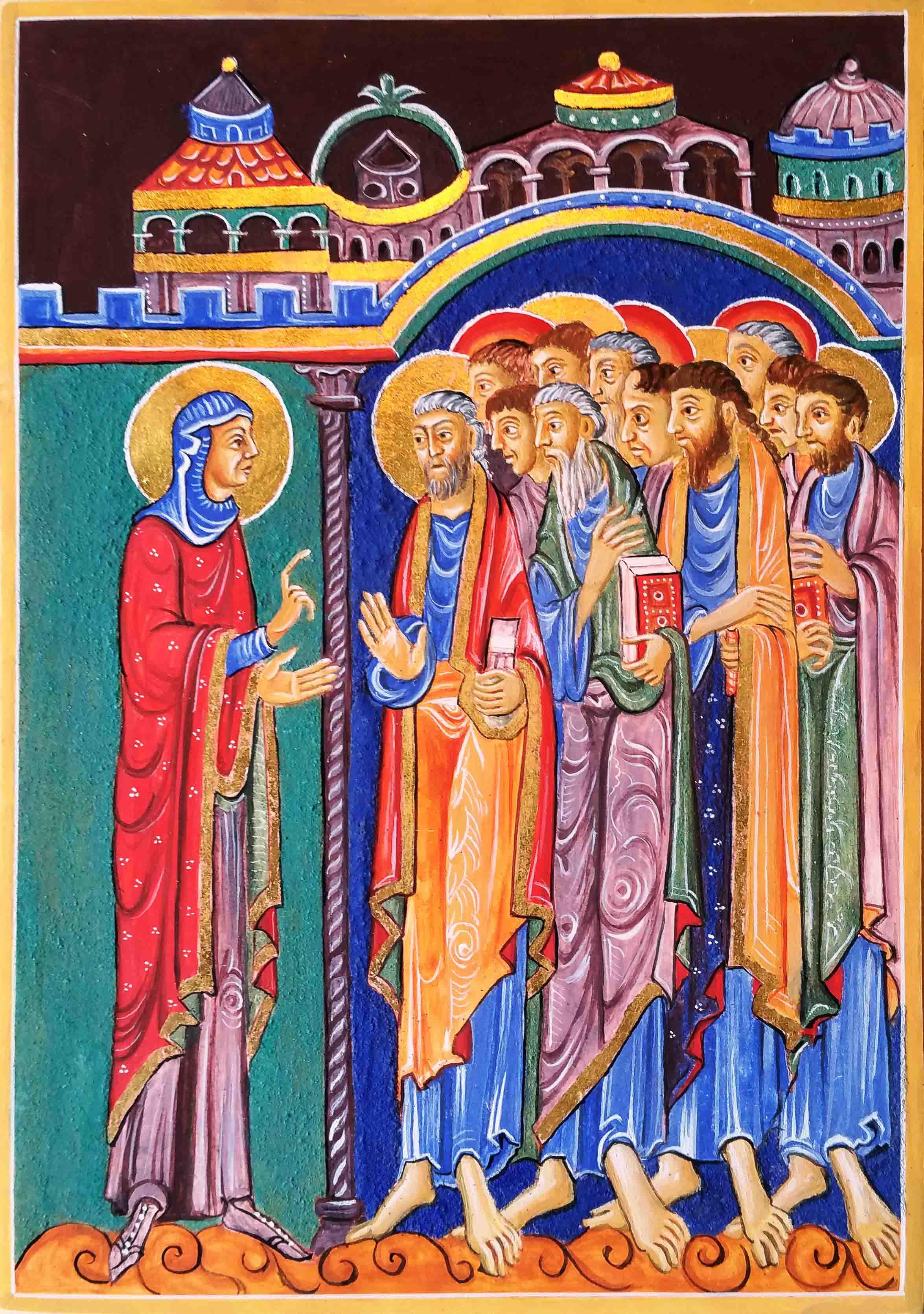 8 St ALbans Psalter Magdalene announces news