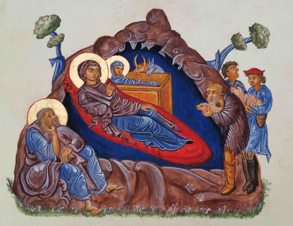9 finished armenian nativity Cruwys