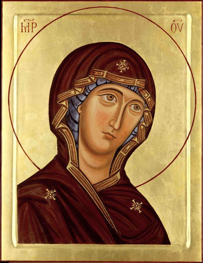 Belssed virgin Mary