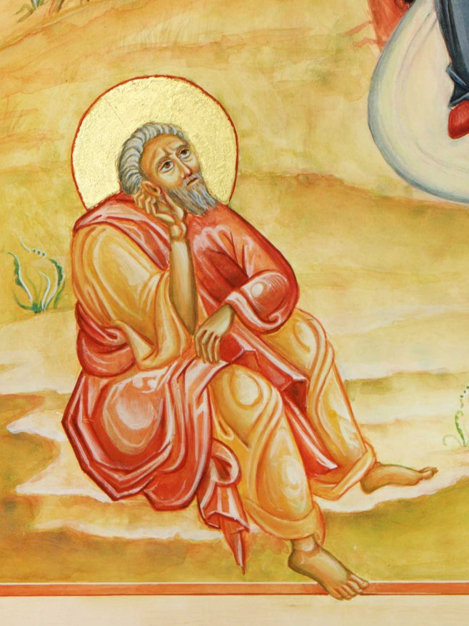 St Joseph at the Nativity scene
