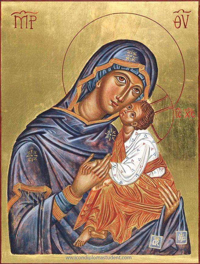 icon of Our Lady of Carmel