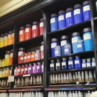 Pigments inside Cornelissens