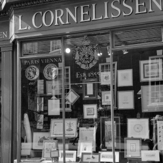 Cornelissen's Window during London Craft Week
