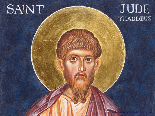 icon of St Jude Thaddeus