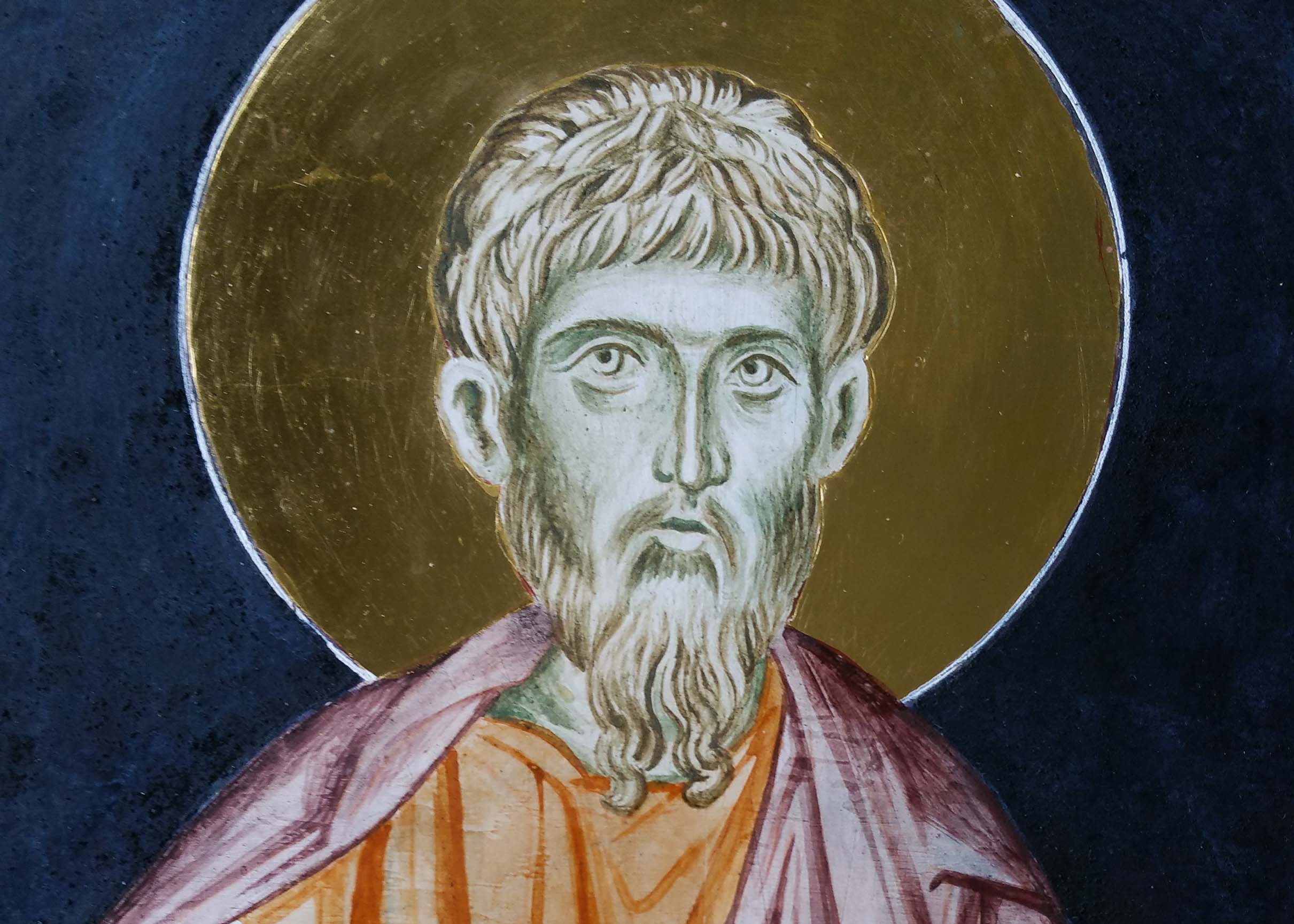 st jude underpainting icon