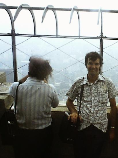 David in 1975