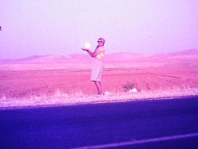 Mum in 1975