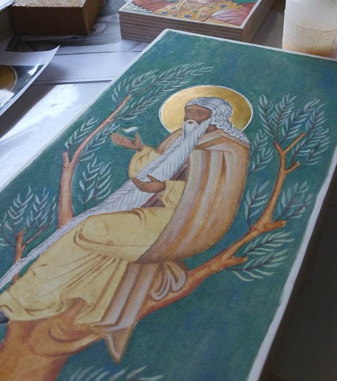 icon painting studio